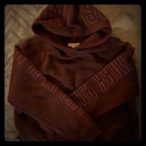 Aeropostale crop hooded sweatshirt, XL